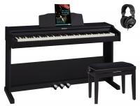 Roland RP102 Digitalpiano Set Schwarz