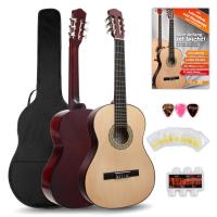 Classic Cantabile Acoustic Series AS-851 4/4 Konzertgitarre Starterset - Retoure (Zustand: gut)
