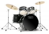 Mapex Tornado Studio Drumset Black mit Zildjian Beckensatz