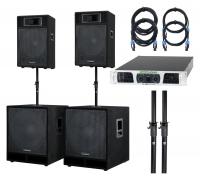McGrey Powerstage-2800 PA systeem 2800 Watt