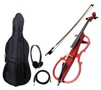 Classic Cantabile CE-200 violoncello elettrico naturale opaco