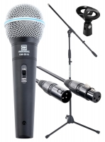 Pronomic Superstar XLR Set de Microphones