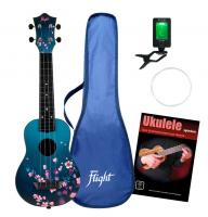 Flight TUS32 Sakura Sopran Ukulele Set