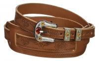 Gretsch Strap Tooled Vintage Leather Russet