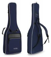 Rocktile Custodia semirigida per chitarra 3/4 e 7/8 con spallacci - colore blu