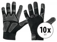 Set of 10 Stagecaptain Rigger Gloves L long