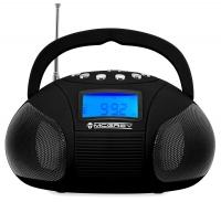 McGrey Boombox MC-50BT-BK Altoparlante Bluetooth con USB slot SD e radio FM, nero