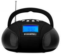 McGrey Boombox MC-50BT-BK bluetooth speaker with USB/SD slot and FM radio, black