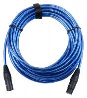 Pronomic Stage XFXM-Blue-10 Mikrofonkabel XLR 10 m Metallic Blue