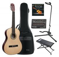 Classic Cantabile AS-851 Guitare de Concert 4/4 SET