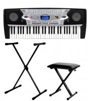 McGrey BK-5420 Beginner-Keyboard SET inkl. Ständer + Bank