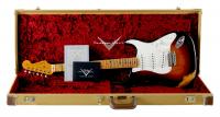 Fender Custom 1955 Heavy Relic Strat Choc-2CS