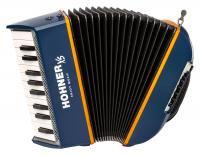 Hohner XS Kinder-Akkordeon blau-orange