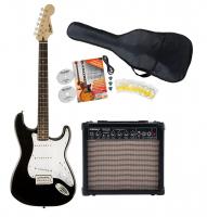Fender Squier Bullet Strat IL BK Starter Set