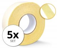 Stagecaptain CT-4850 dubbelzijdige weefselband 50 m 5x pak