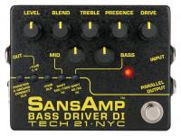 Tech 21 SansAmp Bass Driver DI V2 E-Bass Preamp