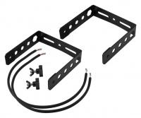 Omnitronic BOB-4 Erweiterungsbügel Set Schwarz