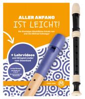 Classic Cantabile F100B C-soprano recorder