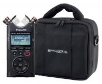 Tascam DR-40X Digitalrecorder Set mit Tasche