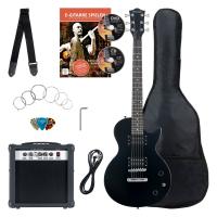 Rocktile Banger's Pack Single Cut E-Gitarren Set, 7-teilig Black - Retoure (Zustand: sehr gut)