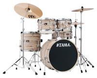 Tama IE50H6W-NZW Imperialstar Drumkit Natural Zebrawood Wrap