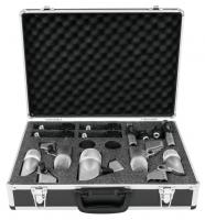 Omnitronic MIC 77-7LMH Schlagzeug Mikrofonset