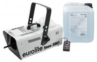 Eurolite Snow 5001 Schneemaschinen Set inkl. Snow Fluid 5L