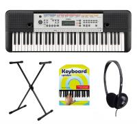 Yamaha YPT-260 Keyboard Set mit Ständer, Kopfhörer & Schule