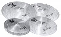 Stagg SXM Silent Practice Cymbal Set