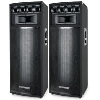 McGrey PowerDJ-212 Passive speakers, pair 2 x 800W