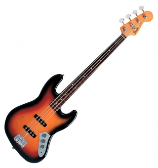 Fender Jaco Pastorius Jazz Bass Fretless 3-Color-Sunburst