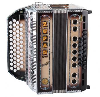 Zupan Vanessa S72 diatonische Harmonika Natur Hochglanz