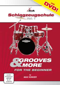 Max Kinker Grooves & More for the Beginner Schlagzeugschule + DVD