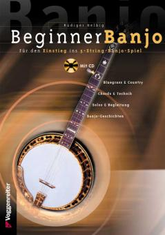 Beginner Banjo inkl. CD