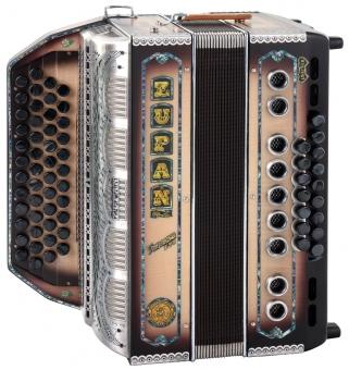 Zupan Vanessa S72 diatonische Harmonika Natur Matt