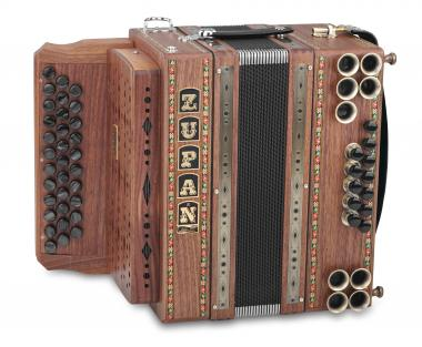 Zupan Eco 3/II Harmonika B-Es-As Nuss