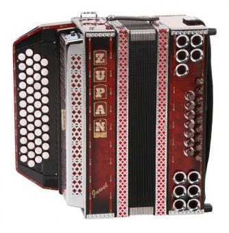 Zupan Juwel IVD Harmonika B-Es-As-Des, Shadow Red