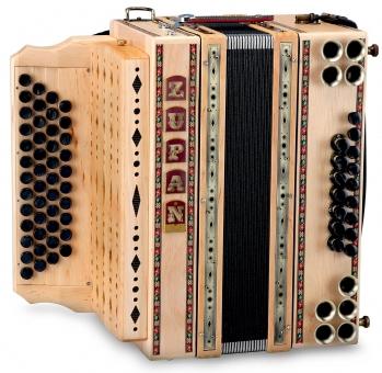 Zupan Eco 4/III Harmonika B-Es-As-Des Erle