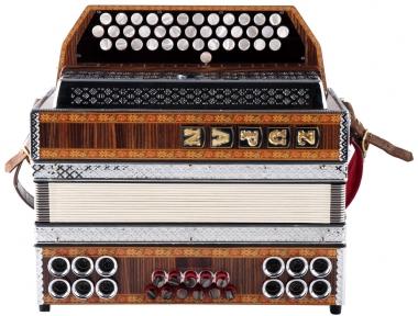 Zupan Alpe III D Palisander G-C-F Harmonika gebraucht