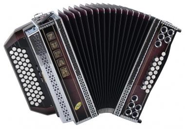 Zupan Violet Signature IVDR Harmonika G-C-F-B mit Registerschaltung Sonderanfertigung