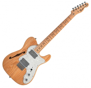 Fender Thinline ´72 Tele MN Natural