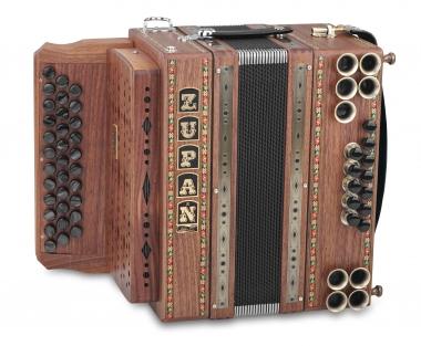 Zupan Eco 3/II Harmonika G-C-F Nuss