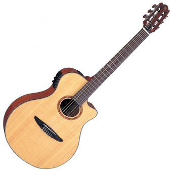 Yamaha NTX-700 Klassikgitarre mit 2-way Pickup (Natural)