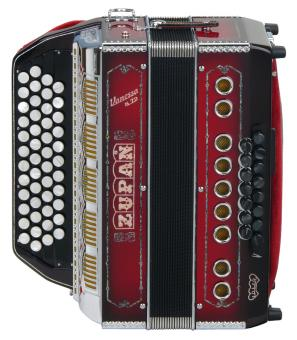 Zupan Vanessa S72 diatonische Harmonika (kpl. handgefertigt)
