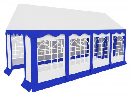 Stagecaptain Bavaria Partyzelt Pavillon 4x8m  - Retoure (Zustand: sehr gut)