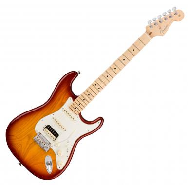 Fender American Pro Strat Ash HSS MN SSB
