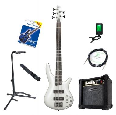 Ibanez SR305E-PW E-Bass Set