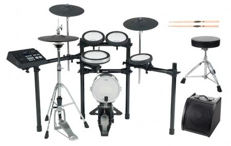 Yamaha DTX720K E-Drum Kit SET 2 mit Hocker, Sticks und Drummonitor