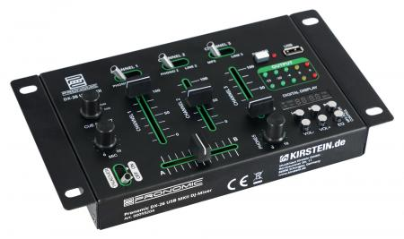 Pronomic DX-26 USB MKII DJ-Mixer