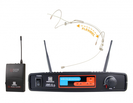 Pronomic UBF-11 Pro Sport XT set de radio (Headset) K9